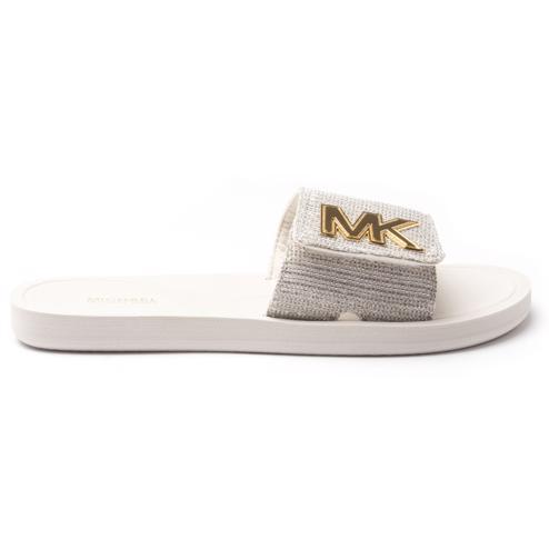 Michael Kors Glitter Chain Mesh Sandals