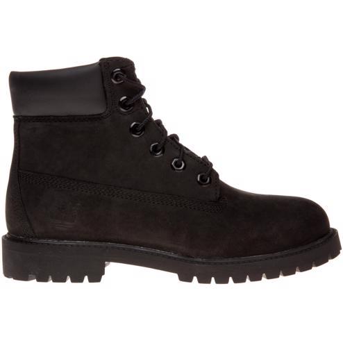 New BOYS TIMBERLAND BLACK 6` CLASSIC NUBUCK BOOTS ... 0f4ae80ae5